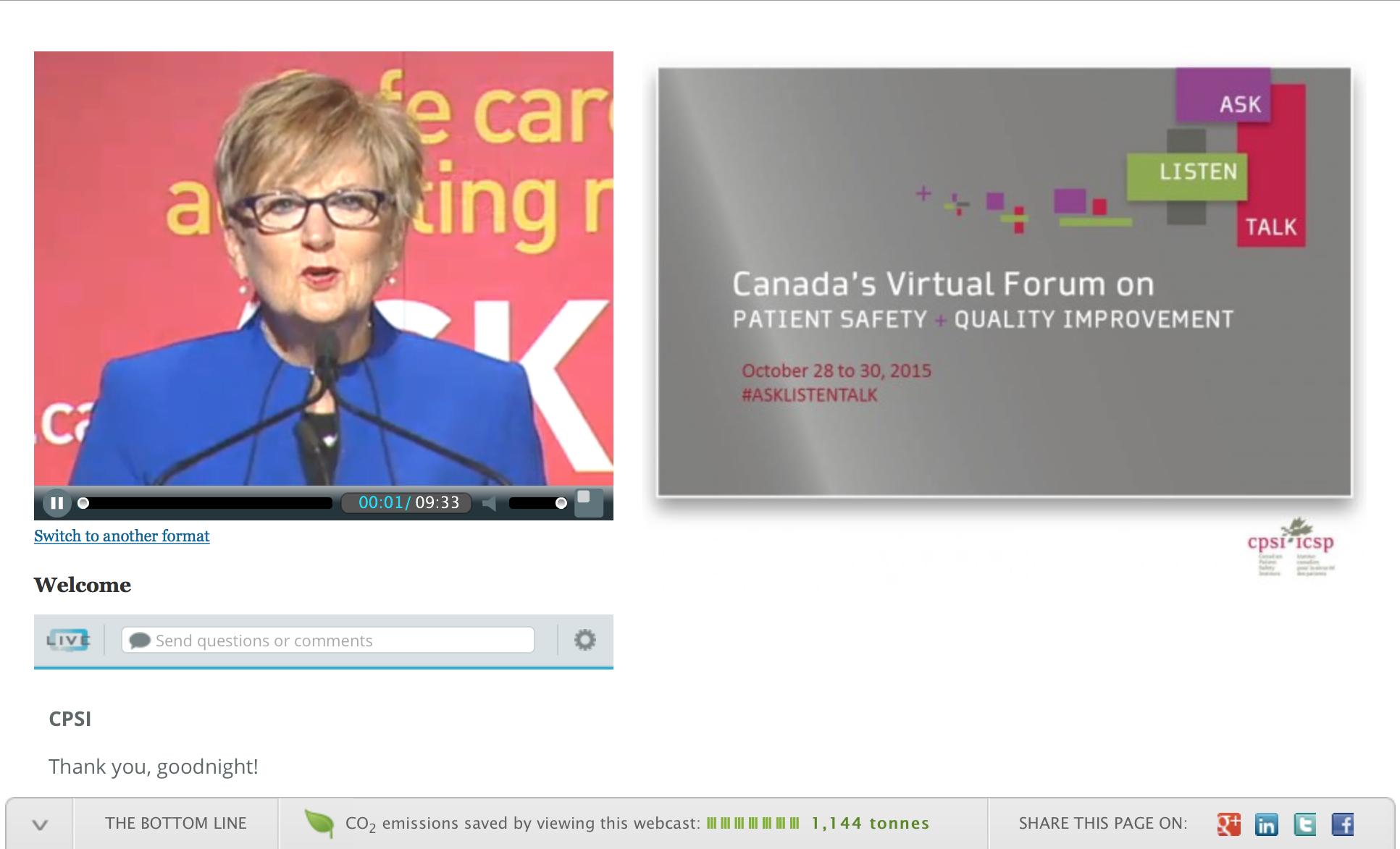 CPSI Virtual Forum